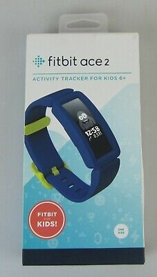 AU10.50 • Buy Fitbit Ace 2 Kids Activity Tracker - Night Sky/neon Yellow - As New