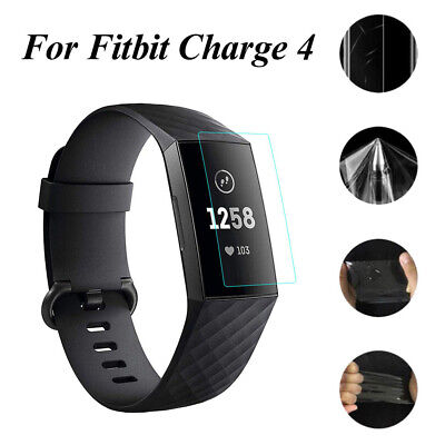 $ CDN9.33 • Buy Full Cover Screen Protector TPU Protective Film For Fitbit Charge 4 Smart Band
