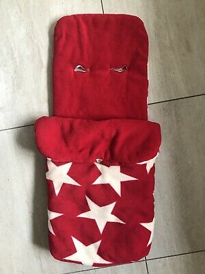 £15.30 • Buy John Lewis Red Stars Footmuff Cosytoes Cosy Toes