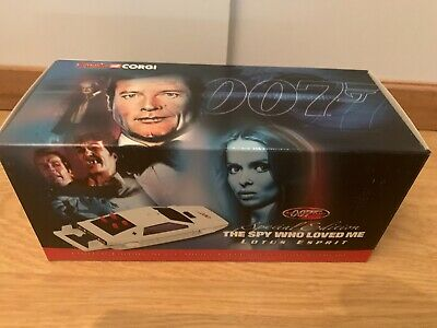 $ CDN120.44 • Buy James Bond 007 CORGI SPY GUISE EXCL. LOTUS ESPRIT Ltd Ed USS0012 Jeff Marshall