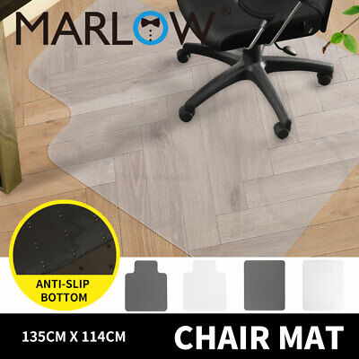 AU43.99 • Buy Chair Mat Carpet Hard Floor Protectors Home Office Room Computer Work PVC Mats