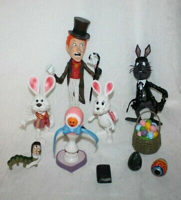 $79.88 • Buy HERE COMES PETER COTTONTAIL ACTION FIGURE TOY SET Irontail Rankin Bass Irontail