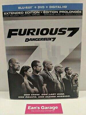 $ CDN4.95 • Buy Fast And Furious 7 Extended Edition: Blu-ray - Canadian - Tested - With Warranty