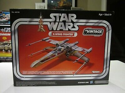 $ CDN275 • Buy Star Wars X-WING FIGHTER Vehicle The Vintage Collection - Exclusive Sealed 2013