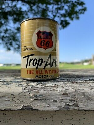 $ CDN39.90 • Buy Phillips 66 Trop Arctic 5 Quart Oil Can 1940s 1950s Bank Cleanest On Ebay Old