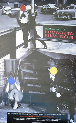 JOHN BALDESSARI RARE Offset Poster Film Noir Homage Night And The City Festival  • 2,246.01£