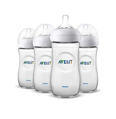 AU40.84 • Buy PHILIPS AVENT Natural Baby Bottle 4 Pack 330 ML/ 11oz ~ 6 Month+  NEW