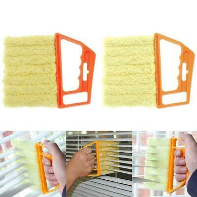 AU14.58 • Buy Blind Cleaner Microfibre Brush Venetian Window Air Conditioner Duster Dirt Clean