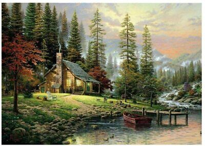 Oil Painting Kit Paint By Numbers Adult Children Beginners Frameless Picture DIY • 7.34£