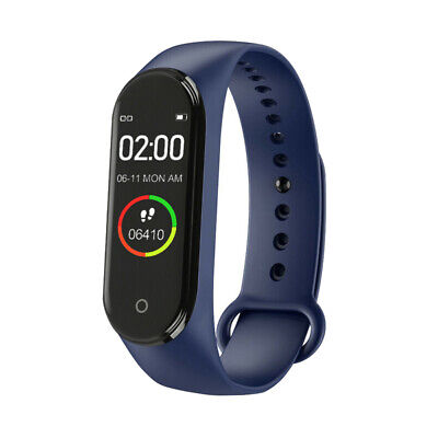 $ CDN8.30 • Buy M4 Smart Watch Fitness Tracker Heart Rate Monitor Sport Bracelet Health Band
