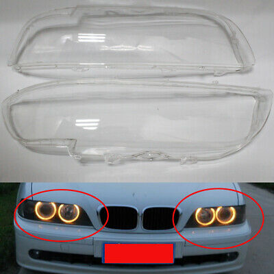 $84.06 • Buy Headlight Lens Cover Clear For BMW 5-Series E39 01-03 530i 540i M5 4 DR US Stock
