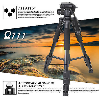 AU39.59 • Buy Zomei Q111 Professional Heavy Duty Aluminium Tripod&Pan Head For DSLR Camera