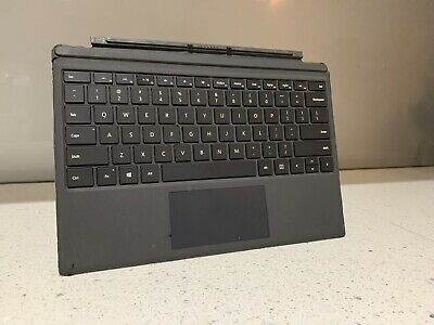 AU119 • Buy Genuine Microsoft Surface Pro 3 Pro 4 Type Cover Keyboard With Backlit, Grey