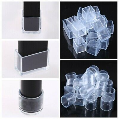 24x Rubber Chair Leg End Caps Feet Cover Pads Furniture Table Floor Protector 1  • 10.52£