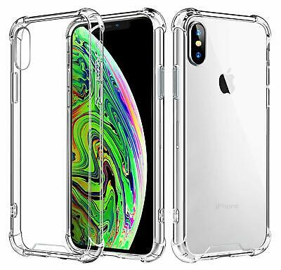 AU4.97 • Buy Clear Shockproof Bumper Back Case Cover For IPhone 11 Pro XS MAX X XR 7 8 Plus