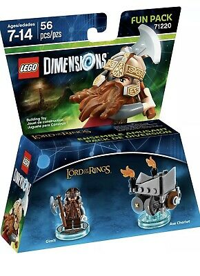 AU20 • Buy Lego Dimensions: Fun Pack - Lord Of The Rings - Gimli 71220