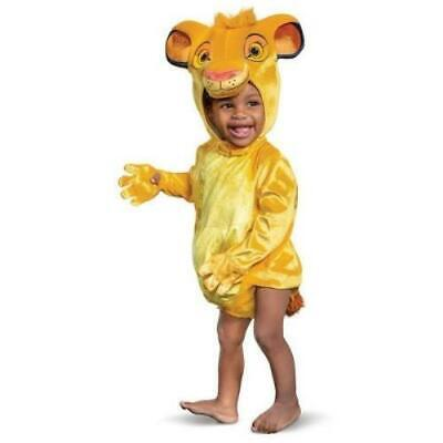 £12.21 • Buy Baby Unisex Pretend Play Dress Up  Lion King Simba 3 Pc Costume Size 12-18 Mos