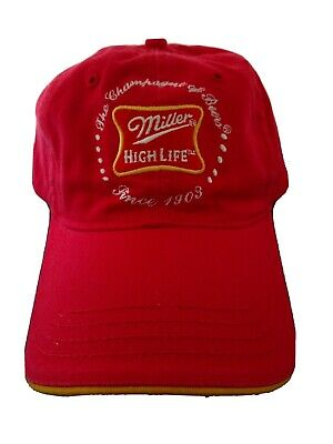 $7.99 • Buy New Miller High Life Champagne Of Beer Since 1903 Hat Cap Rare Vintage 2005