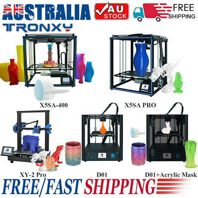 AU399.99 • Buy AU Tronxy D01 XY-2 Pro X5SA PRO High Precision DIY 3D Printer Kit 300*300*400mm