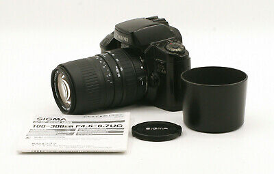£35.36 • Buy Canon EOS Elan W/ Sigma DL Zoom 100-300mm F4.5-6.7 For Canon EF Mount!