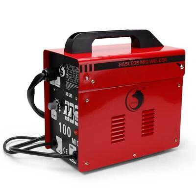 MIG 100 Welder Machine No Gas Amp 240V Welder Auto Flux Wire Welding Machine UK • 80.99£