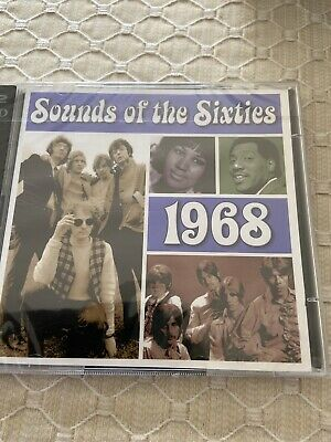 Time Life - Sounds Of The Sixties - 1968 - 2 Cd - New And Sealed - • 18.99£