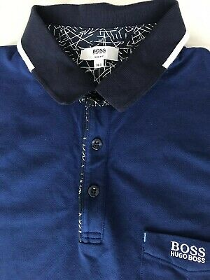 Boys Hugo Boss Polo Shirt Age 14 Years Old New With Out Tag 100%genuine  • 18.99£