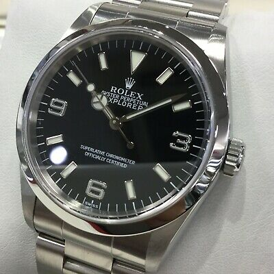 $ CDN8785.31 • Buy Rolex Explorer Automatic Stainless Steel Men's Watch 14270 Used