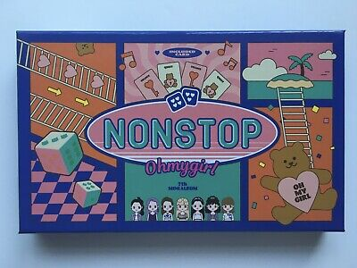 Oh My Girl Nonstop Quest Version Album Kpop Cd [no Photocard] • 9£