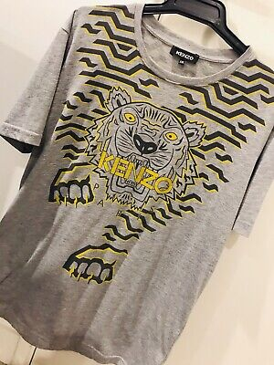 AU50 • Buy KENZO - TIGER - Men's Grey XXL T-shirt