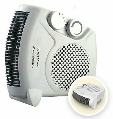 £16.16 • Buy Fan Heater 2KW 2000W Portable SILENT Electric FH06 Floor Hot & Cold Air Upright