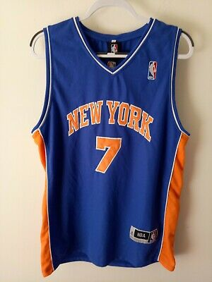 AU22.95 • Buy [03] NBA NEW YORK KNICKS Unisex Jersey Size 2XL Basketball CLIMA #7 Anthony