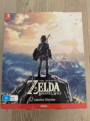 AU369.50 • Buy The Legend Of Zelda: Breath Of The Wild Limited Edition (Nintendo Switch, 2017)
