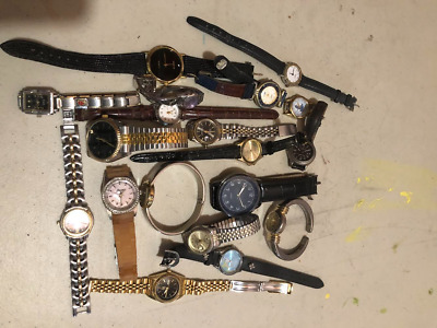 $ CDN19 • Buy Lot Of 19 Vintage Watches For Collectors No Guarantee If They Work