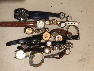 $ CDN18 • Buy Lot Of 18 Vintage Watches For Collectors No Guarantee If They Work