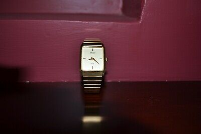 AU120 • Buy Unwanted Gift Seiko Quartz Men's Watch Gold In Excellent Condition