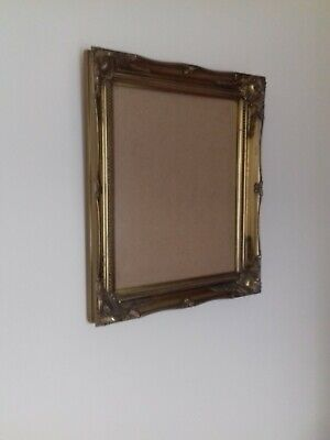 Large Rococo French Style Ornate Gold Gild Picture Frame 18  X 15  • 35£