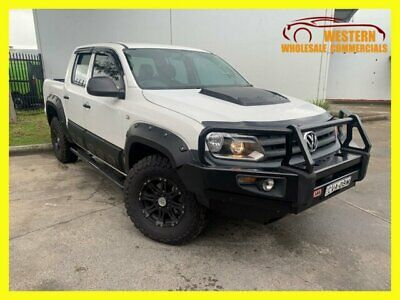 AU27990 • Buy 2014 Volkswagen Amarok White Manual M Cab Chassis