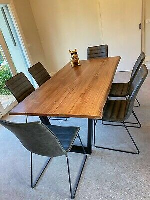 AU890 • Buy Design Timber Dining Table (chairs Sold Already)