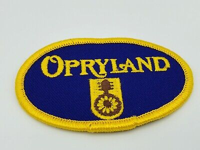 $12 • Buy Opryland Nashville Tennessee Souvenir Embroidered Sew/Iron-on Patch Badge - NOS!