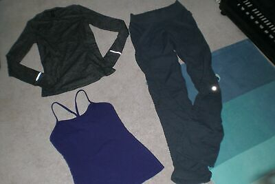 $ CDN58.50 • Buy  SALE Lot Of Lululemon Quick Step Pants, Run Sweater And Tank  Sz 4