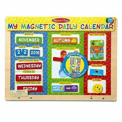 Melissa & Doug My Magnetic Daily Calendar - 80 Magnets - Events - Ages 3 Years + • 16.36£