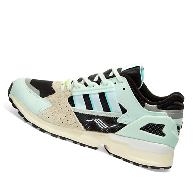 AU248.95 • Buy ADIDAS MENS Shoes ZX 10000 C - Dash Green, Aqua & Core Black - FV3324