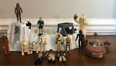 $ CDN19.36 • Buy Vintage 1977 Star Wars 13 Figure ATTACK BASE LOT Obi Snaggle R2-D2 Chewy ESTATE4
