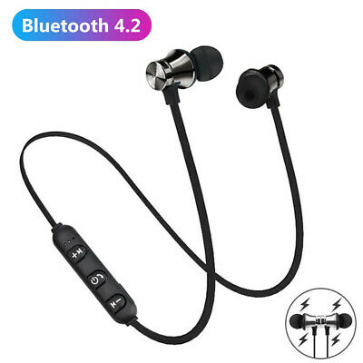 Wireless Bluetooth Headphones Sports PREMIUM Earphones For Samsung IPhone UK • 4.99£