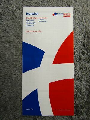 National Express 727 Timetable [335] • 0.99£