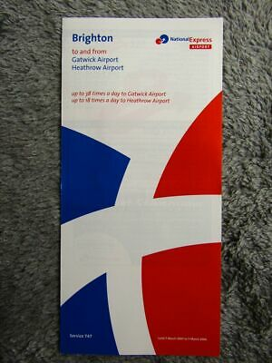 National Express 747 Timetable [336] • 0.99£