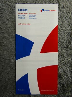National Express 490 Timetable [337] • 0.99£