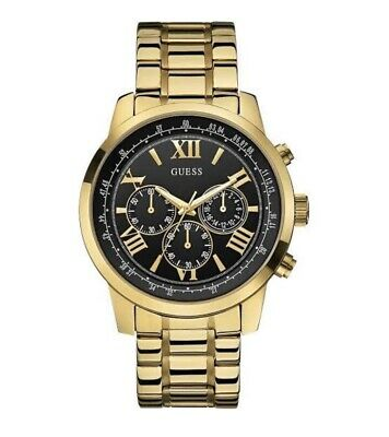 AU199.99 • Buy Authentic Guess Watch Men's Horizon Chronograph Gold Brand New