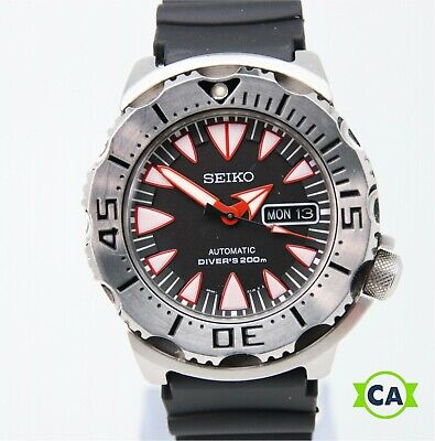 $ CDN974.15 • Buy Seiko Superior SRP313 Dracula Monster Men's 200m Diver Automatic Watch 390855
